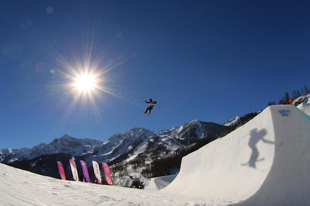 Slopestyle skiing is one of the most dangerous Olympic events. (Getty)