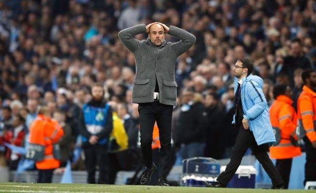 Manchester City's 2018-19 Champions League campaign ended in dramatic fashion in the quarter-finals as Raheem Sterling was denied a late winner by VAR (Martin Rickett/PA).