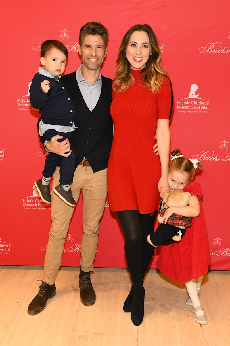 Eva Amurri Martino and Kyle Martino announced their split on November 15, but the former couple, who are expecting a baby next year, are committed coparents. (Photo: Craig Barritt/Getty Images for Brooks Brothers)