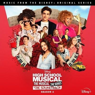 High School Musical: The Musical: The Series Season 2 Soundtrack Cover Art