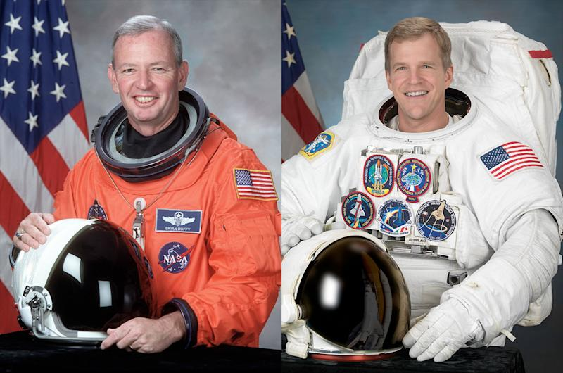 Duffy, Parazynski to Astronaut Hall of Fame
