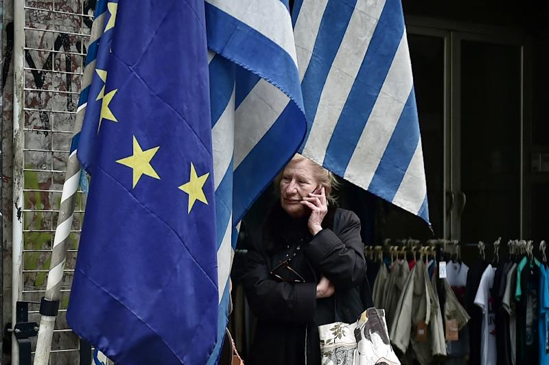 The EU has sharply cut the growth forecast for Greece