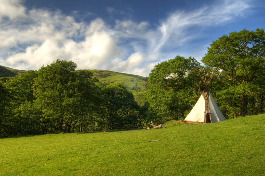 "<p>Set in a remote location on the edge of Snowdonia National Park, <a href=""http://www.oneoffplaces.co.uk/Eco-Retreats"">a collection of tipis</a> rise into the Welsh countryside. Lit by lanterns and warmed by wood burners, they are thoughtfully furnished, with plush beds, sheepskin rugs and beautifully carved tables and chairs. There is nothing but nature to disturb the peace in the folds of 50 acres of Dyfi Forest - no wifi, electricity or smog. Active souls can get their fill of walking, canoeing, biking and rock climbing nearby. From £195 per night. Sleeps two.</p>"