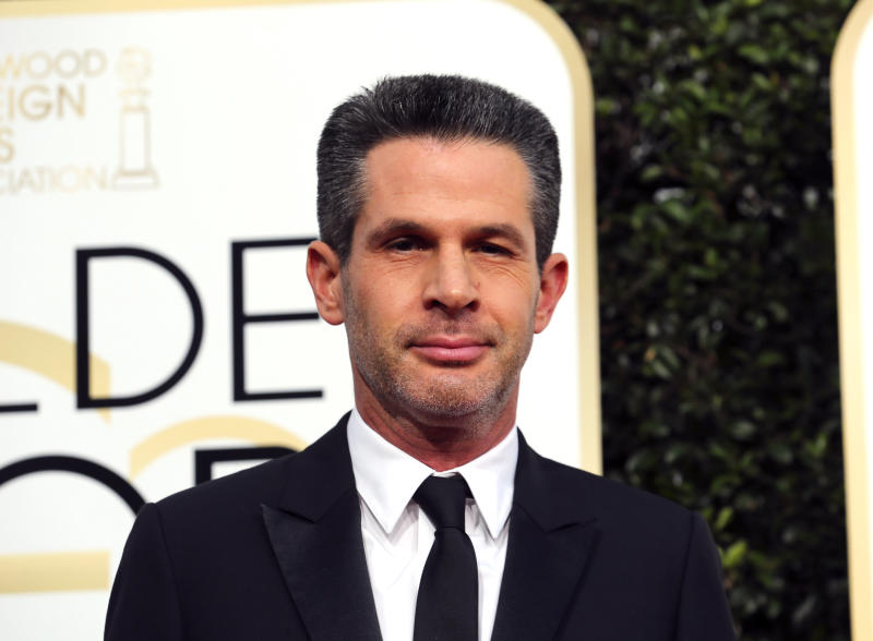 Producer Simon Kinberg arrives at the 74th Annual Golden Globe Awards in Beverly Hills, California, U.S., January 8, 2017. REUTERS/Mike Blake