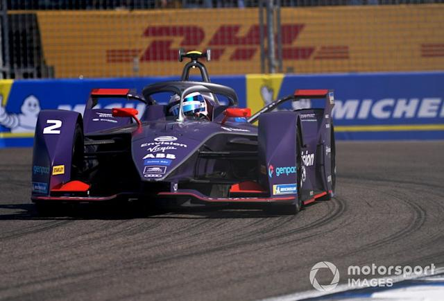 "Sam Bird, Virgin Racing, Audi e-tron FE06 <span class=""copyright"">Dan Bathie / Motorsport Images</span>"