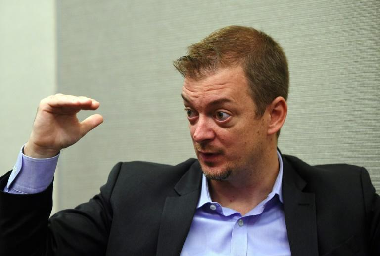 Andrew Parsons, president of the International Paralympic Committee, called for clarity over Russia's participation in Tokyo (AFP Photo/Jung Yeon-je)