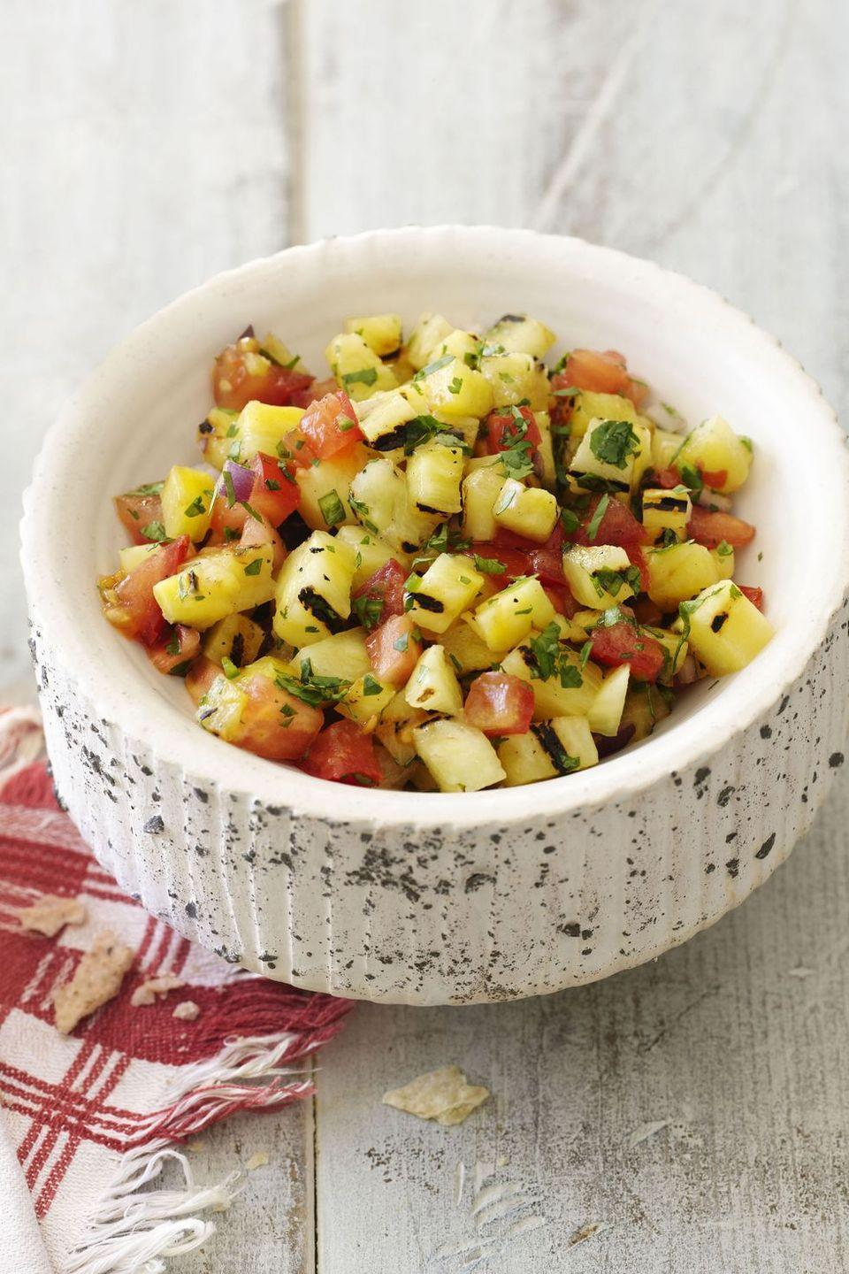 "<p>If you prefer chunky salsa made of out of fresh tomatoes over the jar variety, you've come to the right place.</p><p><em><a href=""https://www.goodhousekeeping.com/food-recipes/a14141/pineapple-serrano-pico-de-gallo-recipe-clv0512/"" rel=""nofollow noopener"" target=""_blank"" data-ylk=""slk:Get the recipe for Pineapple-Serrano Pico de Gallo »"" class=""link rapid-noclick-resp"">Get the recipe for Pineapple-Serrano Pico de Gallo »</a></em></p>"