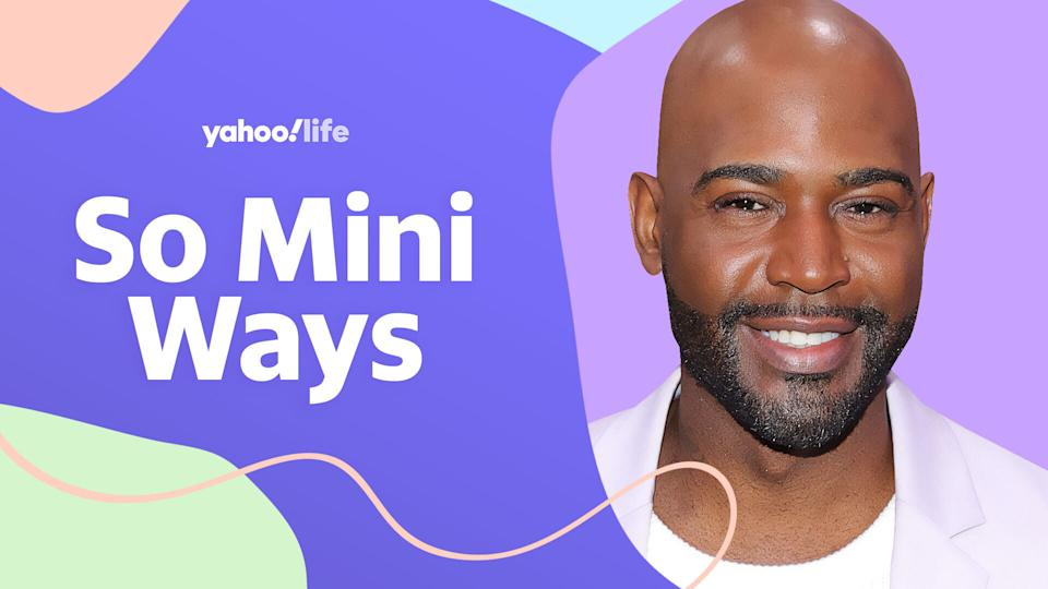 Karamo Brown shares the important lesson he's learned as a parent to two boys. (Photo: Getty Images; designed by Quinn Lemmers)