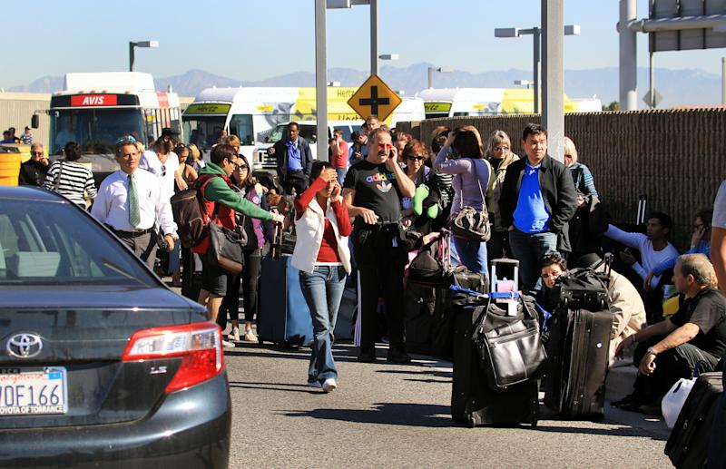 Thousands of fliers delayed after LAX shooting