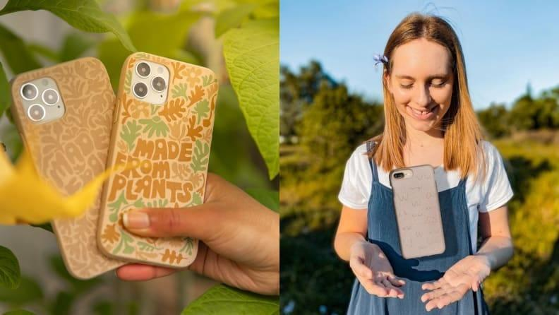 Pela phone cases are trendy AND sustainable.