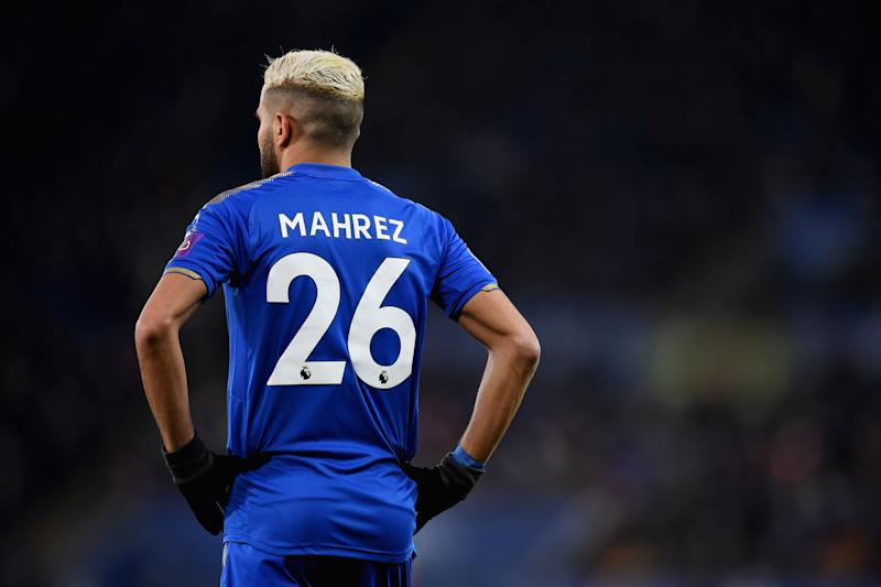 Missing Mahrez casts shadow over Foxes trip to Manchester City