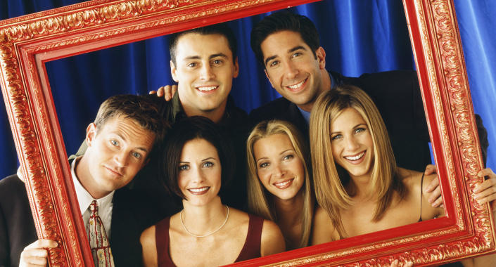 The <em>Friends</em> stars recently reunited for a look-back special.