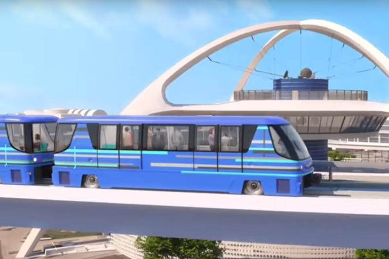 'Automated People Mover' Shuttle Service to Open in Los Angeles Airport by 2023