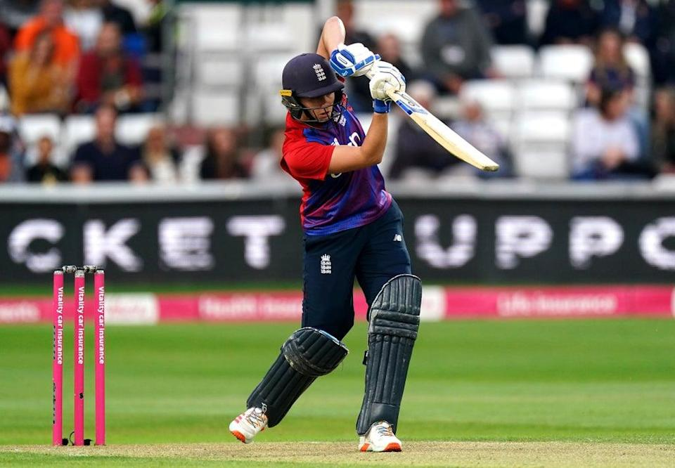 Nat Sciver admitted England Women missed their experienced players as New New Zealand levelled the T20 series with a four-wicket win at Hove (Zac Goodwin/PA) (PA Wire)