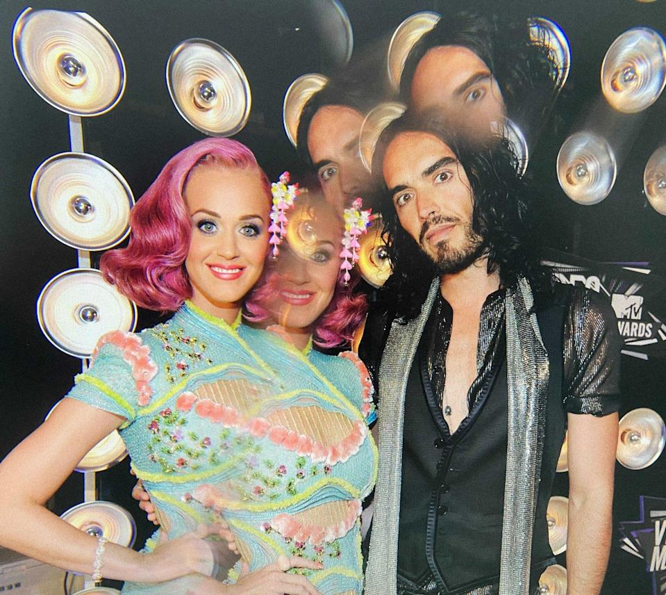 Katy Perry and Russell Brandt