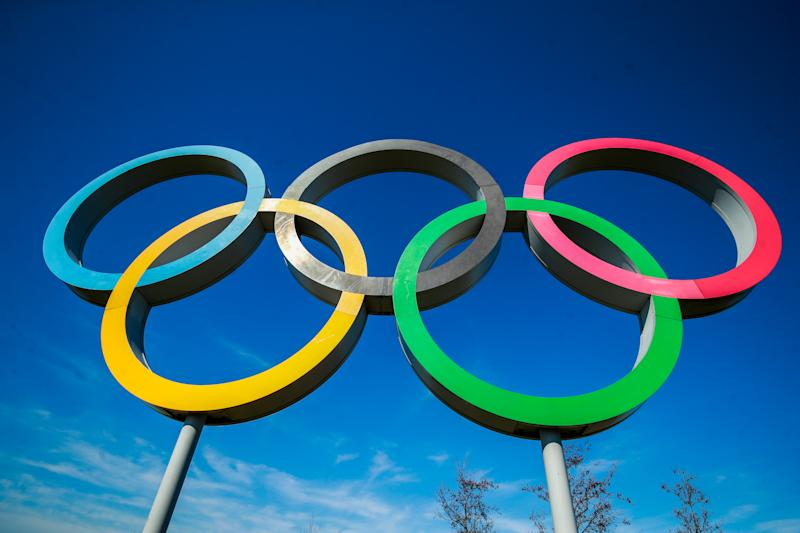 The Olympic Ring at the Queens Elizabeth Park, London. (Photo by Adam Davy/PA Images via Getty Images)