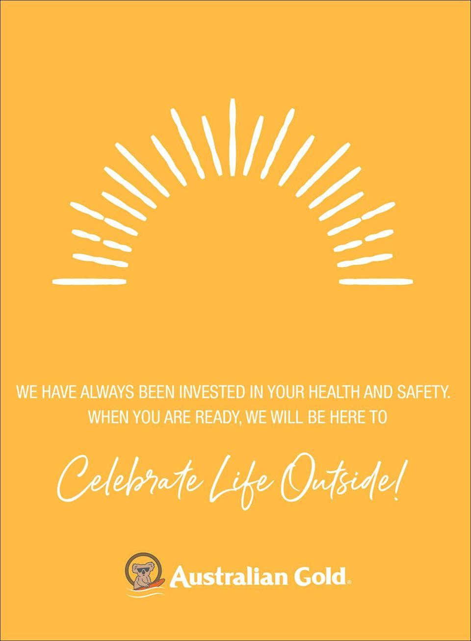<p>We have always been invested in your health and safety. When you are ready, we will be here to celebrate life outside! </p>