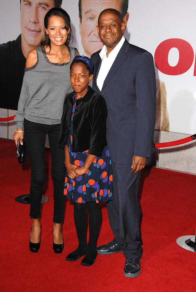 """<a href=""""http://movies.yahoo.com/movie/contributor/1800022007"""">Forest Whitaker</a> and family at the Los Angeles premiere of <a href=""""http://movies.yahoo.com/movie/1809918087/info"""">Old Dogs</a> - 11/09/2009"""