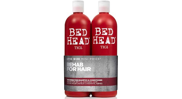 Bed Head by Tigi Urban Antidotes Resurrection Shampoo and Conditioner for Damaged Hair