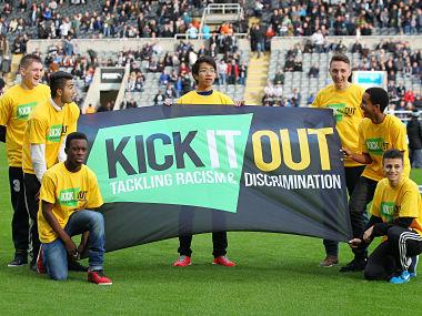 Racism and homophobia incidents in English football rise by 59 percent, says pressure group Kick It Out