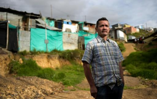 Jose Pineda fled southeast Colombia four years ago after being brutally interrogated about his alleged ties to the FARC. He now lives in poverty in Ciudad Bolivar