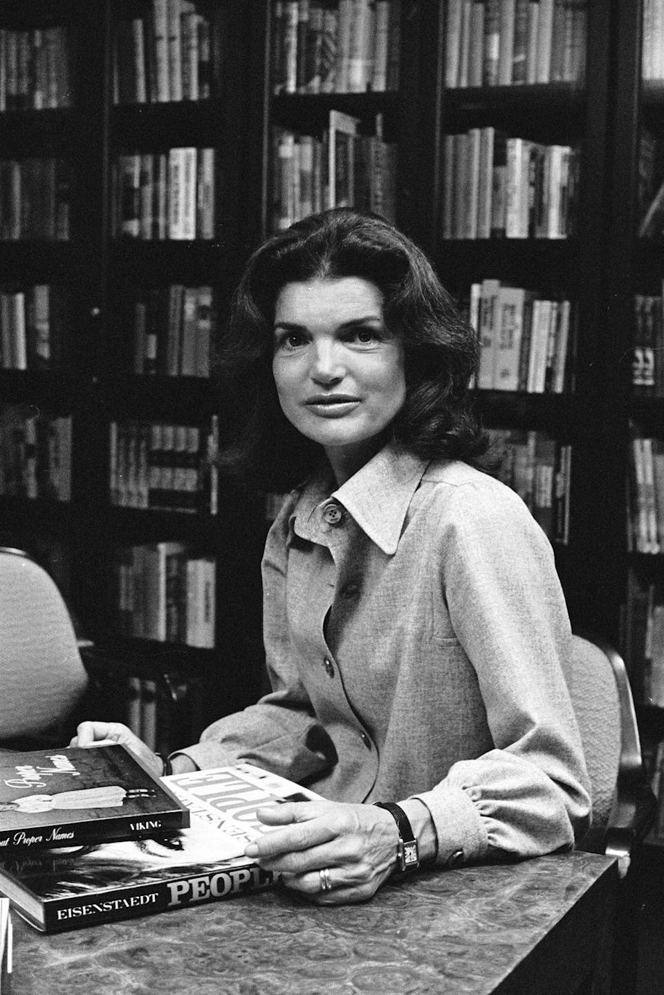<p>After Jacqueline Kennedy left the White House, the former First Lady took the position of book editor at a publishing house. In 1970, the Equal Pay Act was passed into legislation after it was discovered that women earned 15% less than men in the same position. </p>