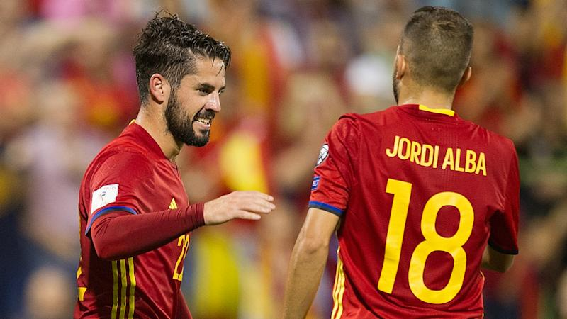 Alba: I don't like seeing Isco playing so well