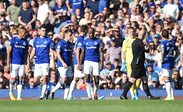 Everton poor at home (Credit: Getty images )