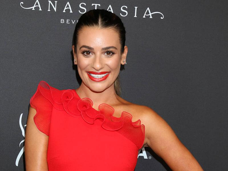 Lea Michele feared for her job after Ryan Murphy caught her fooling around on Glee set