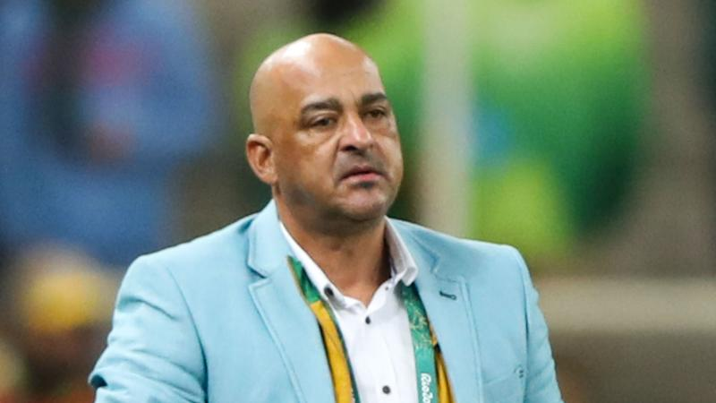 South Africa 0 Angola 0: Referee collides with player in goalless draw