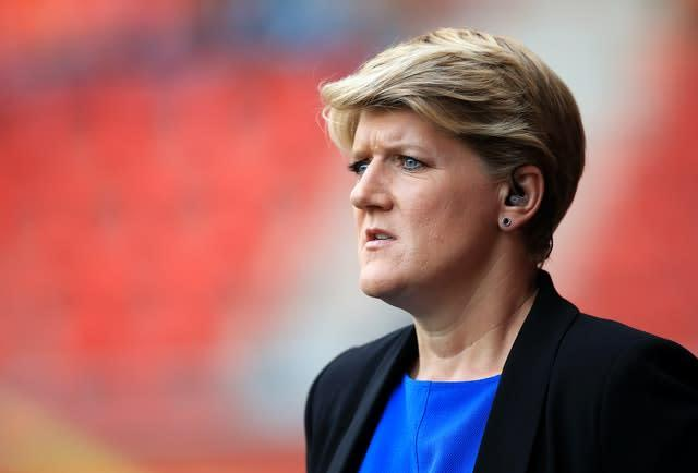 Clare Balding was the face of the BBC's rugby league coverage (Mike Egerton/PA)