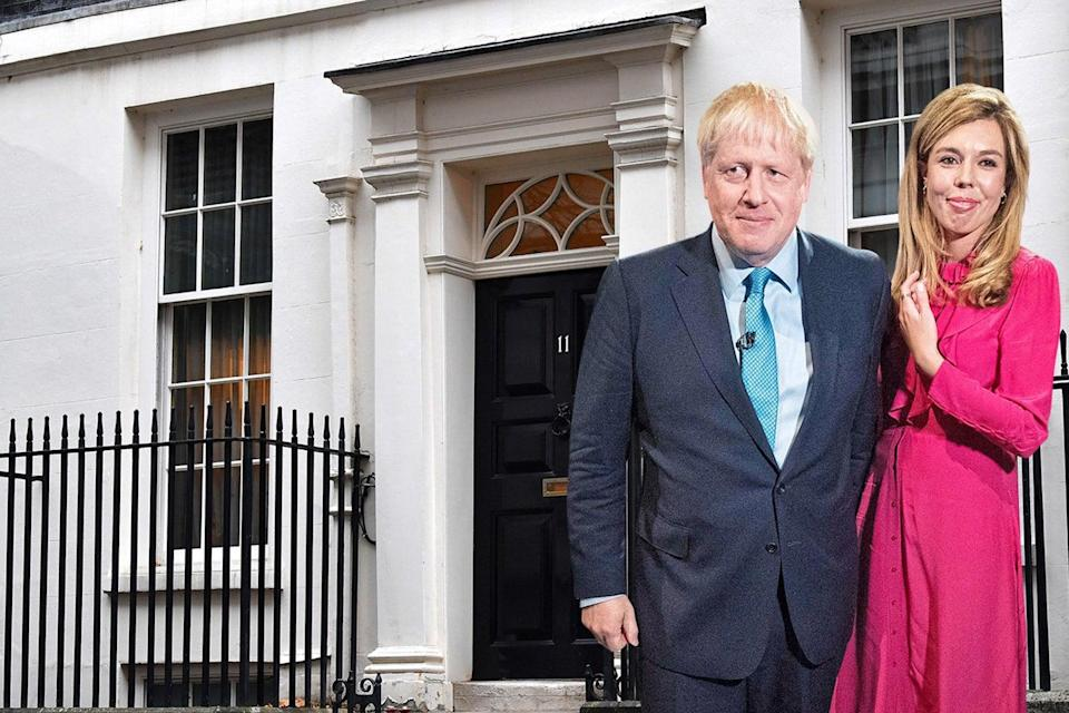 Prime Minister and his fiancée Carrie Symonds are at the heart of the crisisES Composite