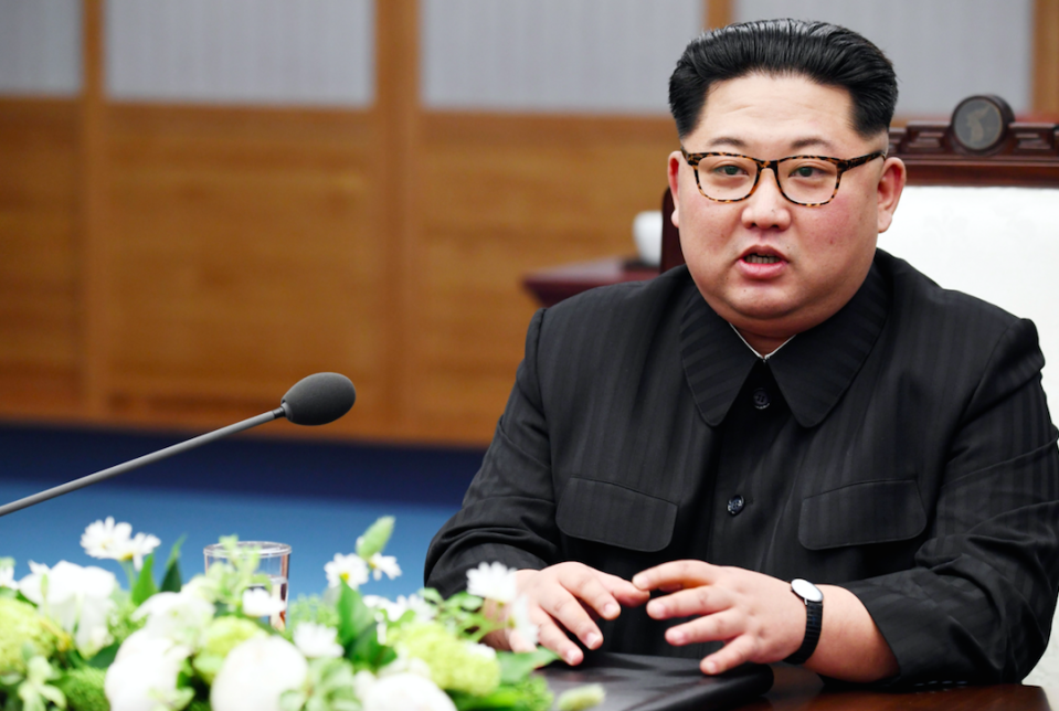 North Korean leader Kim Jong-un is set to meet the US president (Picture: Rex)