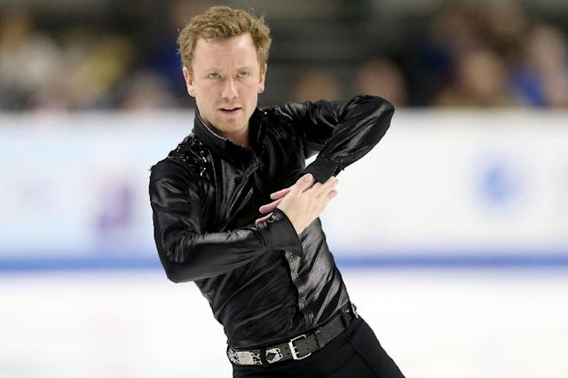 Ross Miner competes in the Men's Short Program during the 2018 US figuer skating championships in San Jose, California (AFP Photo/MATTHEW STOCKMAN)