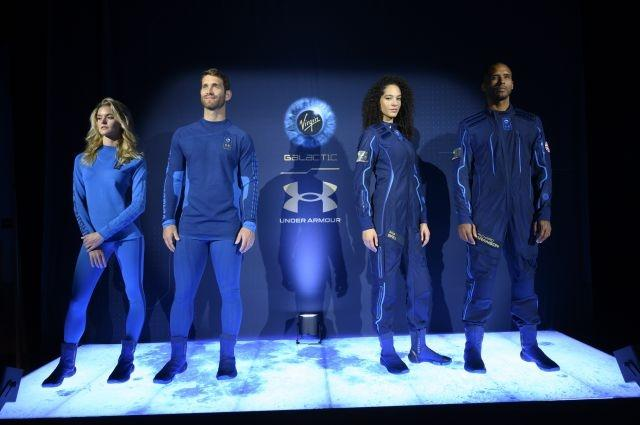 PHOTO UPDATE: Virgin Galactic unveils commercial space suits
