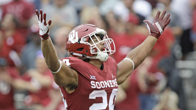 Anderson was an early Heisman candidate before he suffered a season-ending knee injury in the Sooners' second game of 2018.