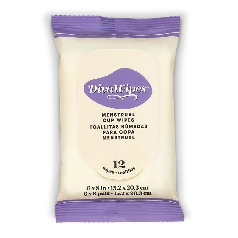 <p>The 100 percent compostable <span>Divacup Wipes</span> ($12) are made without dyes, alcohol, and fragrance. Unlike the other wipes on this list, all 12 live in this little peel-up packet.</p>