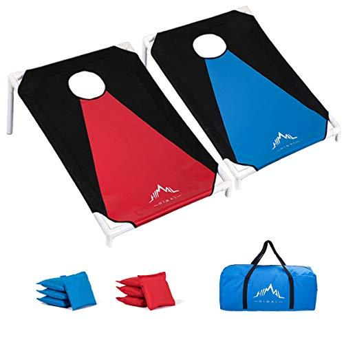 Himal Collapsible Portable Corn Hole Boards With 8 Cornhole Bean Bags (3 x 2-feet) (Amazon / Amazon)