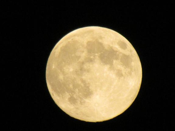 Harvest Full Moon Rises This Weekend