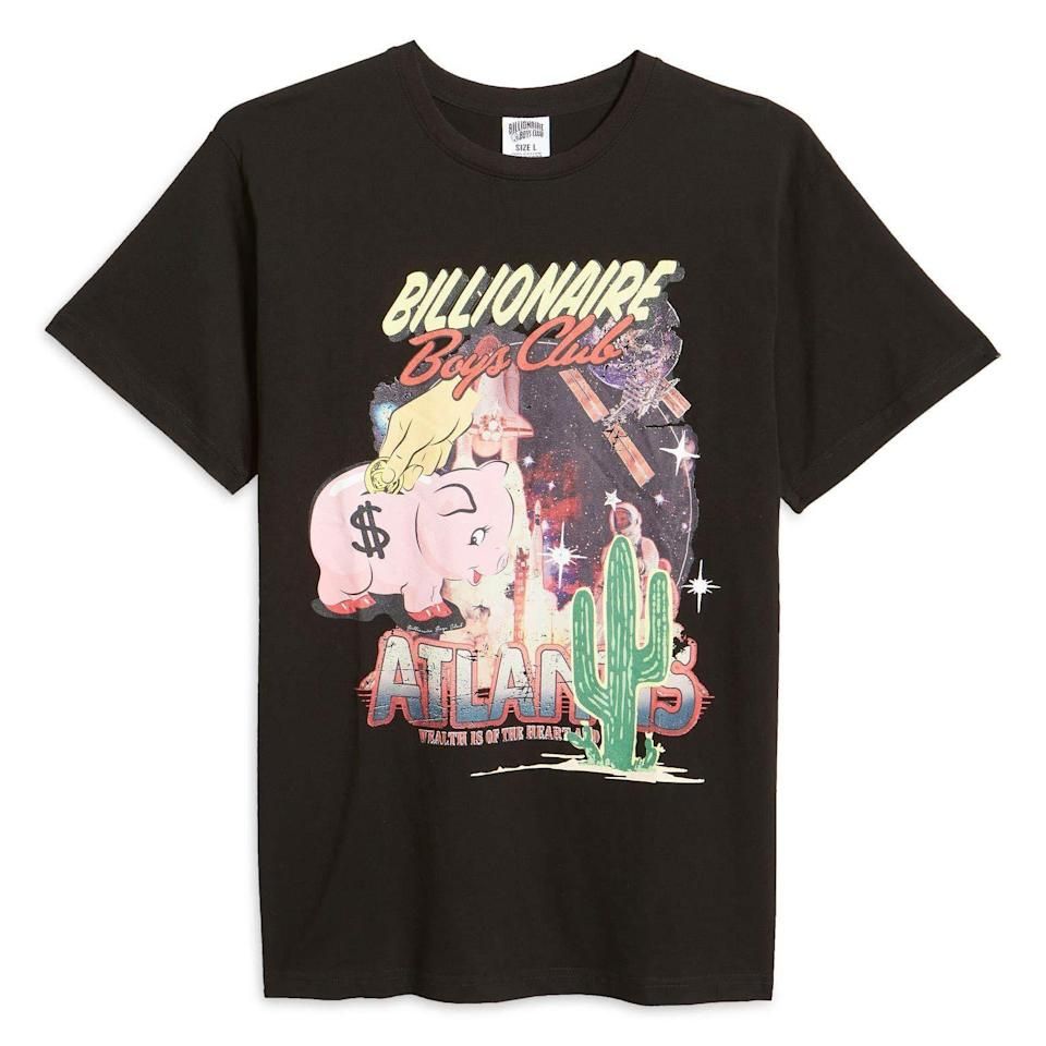 """<p><strong>Billionaire Boys Club</strong></p><p>nordstrom.com</p><p><strong>$50.00</strong></p><p><a href=""""https://go.redirectingat.com?id=74968X1596630&url=https%3A%2F%2Fwww.nordstrom.com%2Fs%2Fbillionaire-boys-club-bb-atlantis-graphic-tee%2F5834059&sref=https%3A%2F%2Fwww.esquire.com%2Fstyle%2Fmens-fashion%2Fg36147610%2Fbest-new-menswear-april-16-2021%2F"""" rel=""""nofollow noopener"""" target=""""_blank"""" data-ylk=""""slk:Shop Now"""" class=""""link rapid-noclick-resp"""">Shop Now</a></p><p>So, I guess I really want to go gamble in Atlantis now? </p>"""