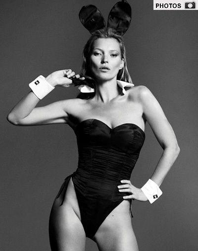 PHOTOS: Kate Moss for Playboy