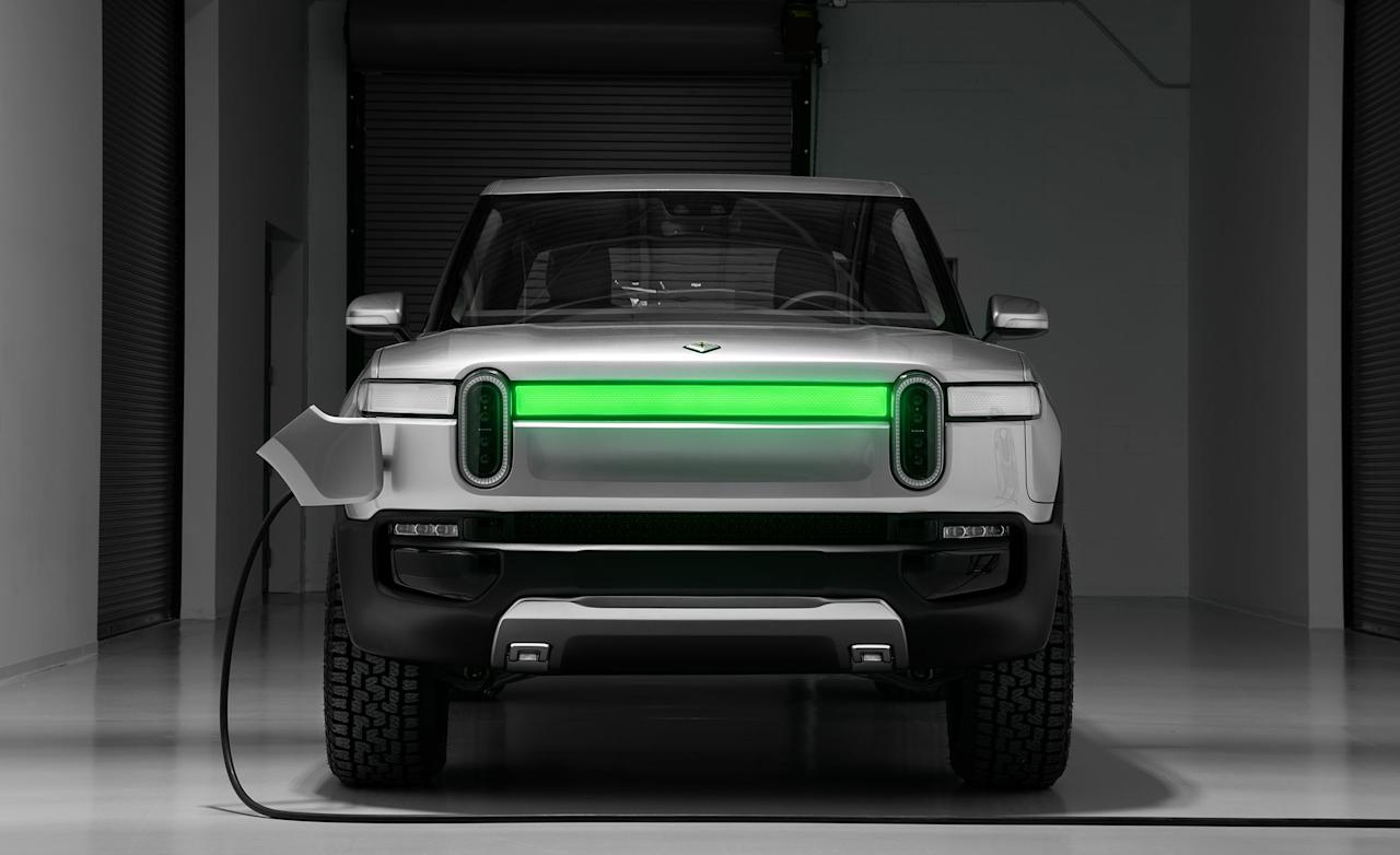 P Rivian Is A New American Electric Car Startup Brand That Aiming