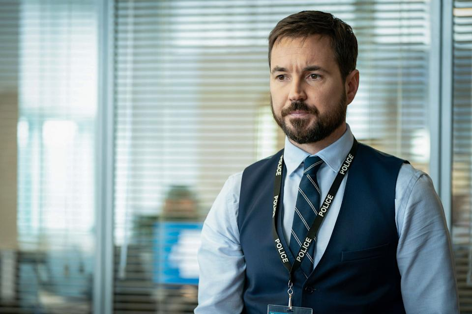 Martin Compston plays DI Steve Arnott in Line Of Duty (Photo: BBC)