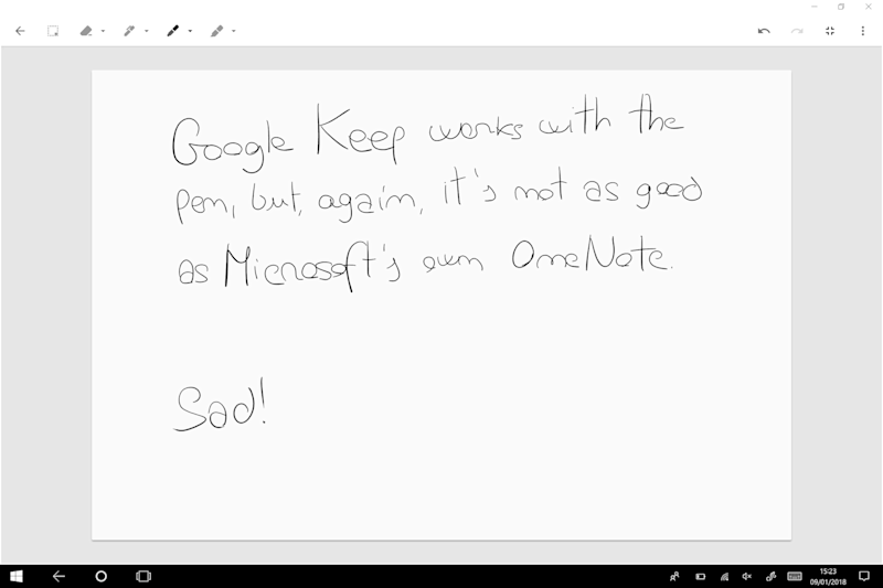 Keep VS. OneNote