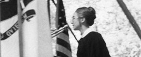 <p>In 1969, Hillary was the first student commencement speaker at <span></span>Wellesley College<span></span>.</p>