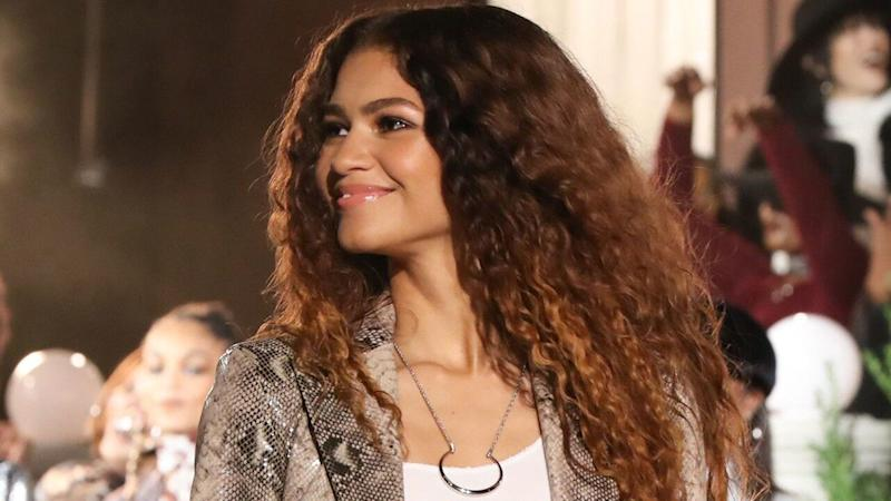 Zendaya Is a '70s Siren For Her Tommy Hilfiger Collection at NYFW Fashion Show
