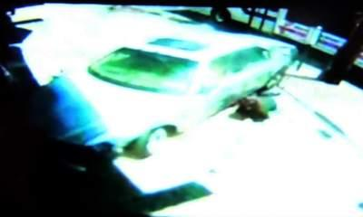 Mother Saves Baby After Taxi Slams Into Them