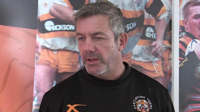 Castleford Tigers coach Daryl Powell speaking ahead of the Super League match v Hull FC