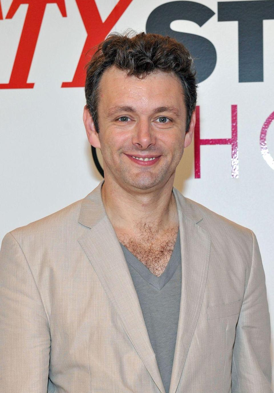 <p>Look at you, Michael Sheen. We were impressed by the actor's choice to display his hairy chest, especially since he was rocking a rare sans-beard moment here in 2010. </p>
