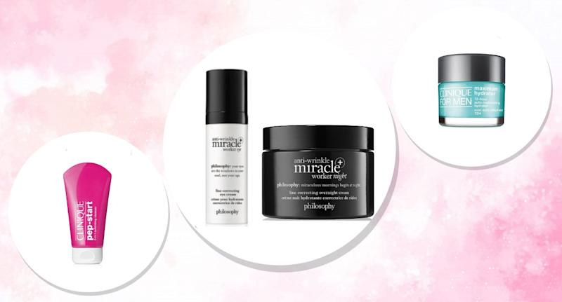 Ulta's love your skin sale features Clinique and Philosophy products for half off. (Photo: Ulta)